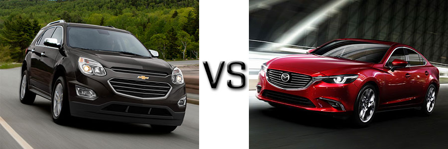 2016 Subaru Legacy vs Mazda 6