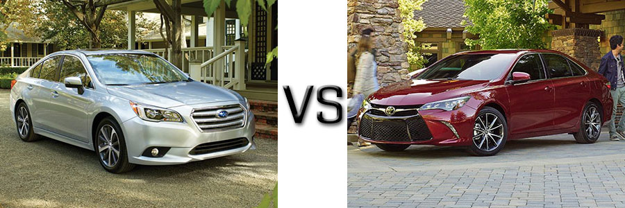 2016 Subaru Legacy vs Toyota Camry