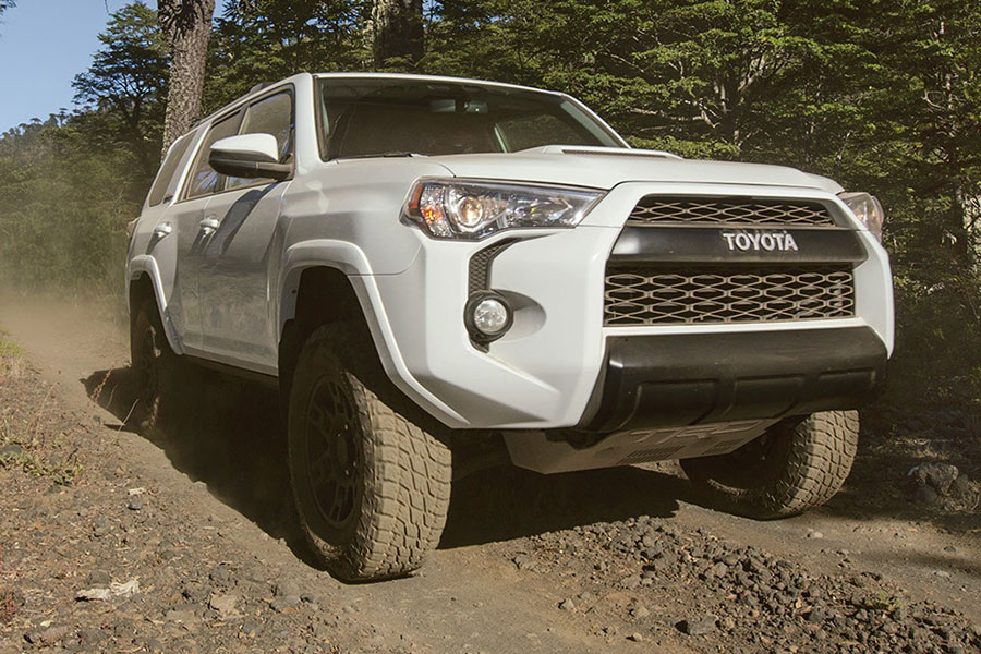 2018 Toyota 4Runner On the Road