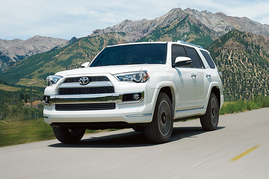 2019 Toyota 4Runner on the Road