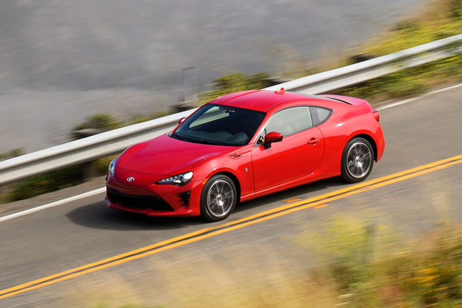 2020 Toyota 86 on the Road