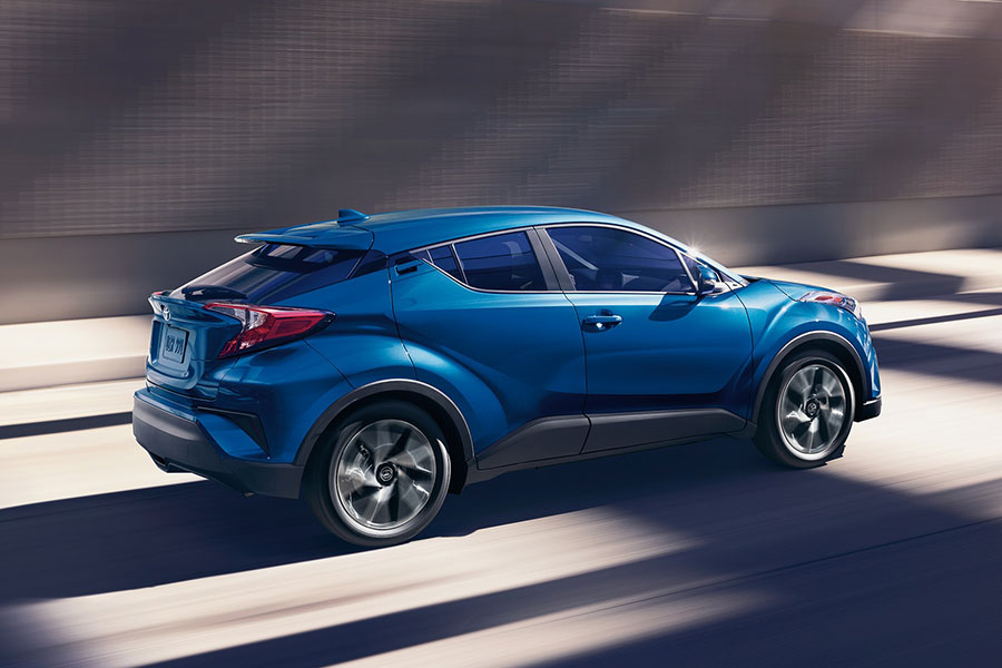 2019 Toyota C-HR on the Road