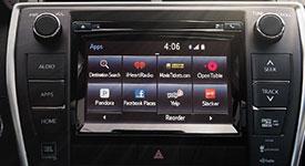 2017 Toyota Camry Entune App Suite