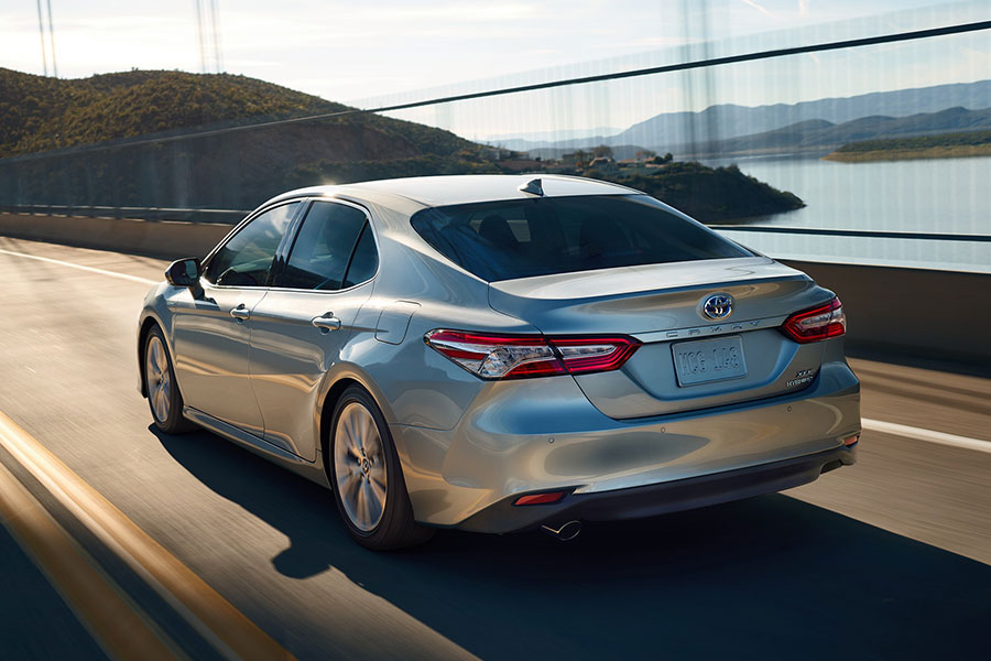 2018 Toyota Camry On the Road