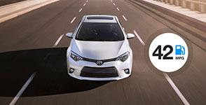 2016 Toyota Corolla 42 MPG Highway