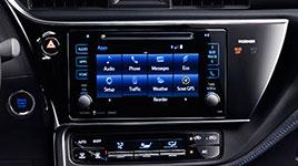 2017 Toyota Corolla Multi-Information Display