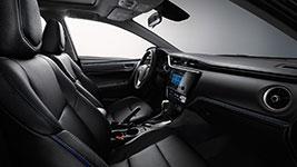 2017 Toyota Corolla Rich Interior Comfort