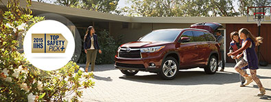 2016 Toyota Highlander IIHS Top Safety Pick+