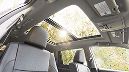 2017 Toyota Highlander Panoramic Sunroof