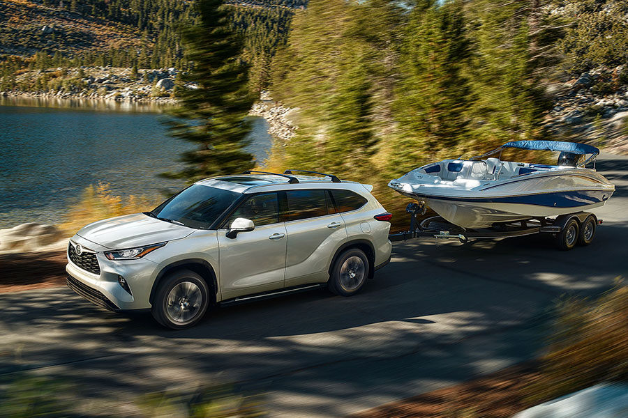 2020 Toyota Highlander Towing