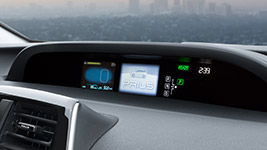 2016 Toyota Prius Color Heads-Up Display