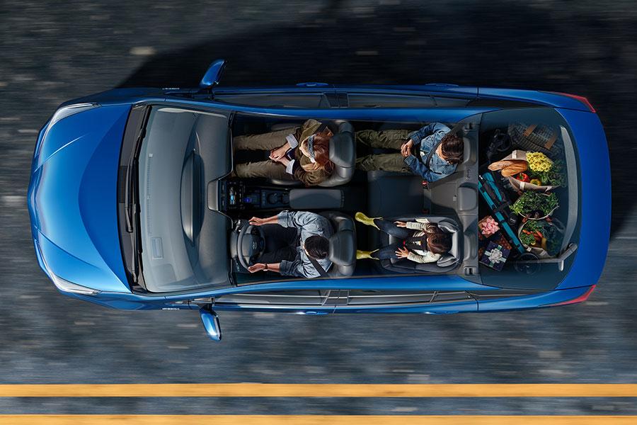 2020 Toyota Prius Interior Seating
