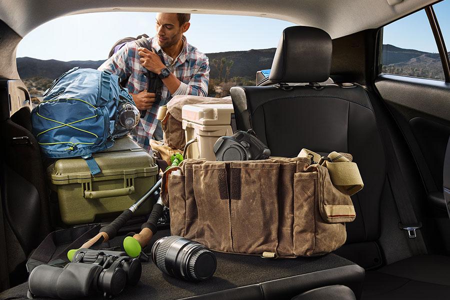 2020 Toyota Prius Interior Storage
