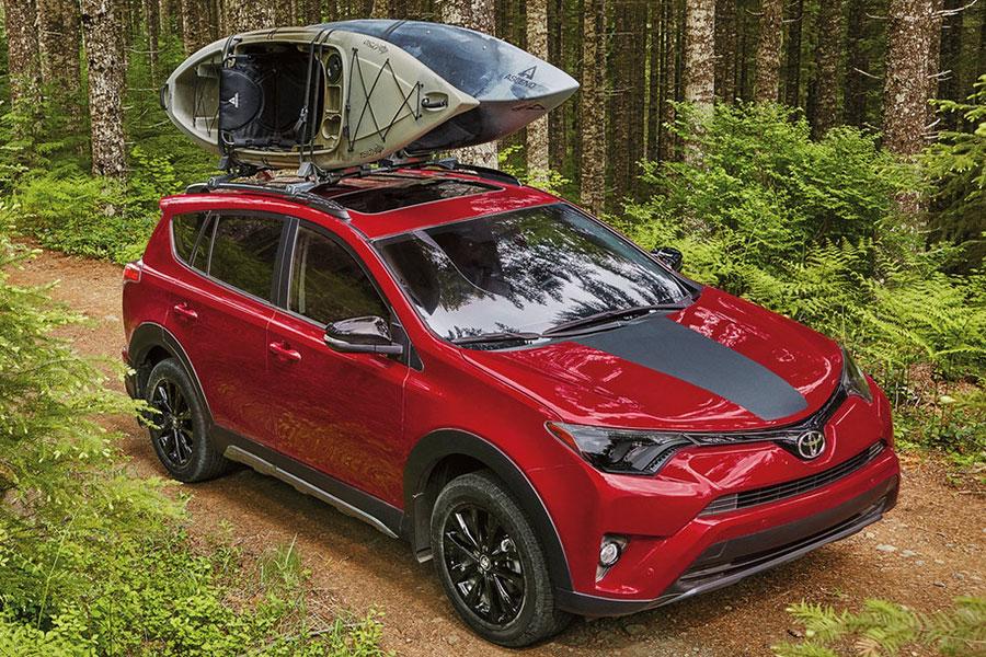 Toyota RAV4 Adventure Grade Exterior on the Road