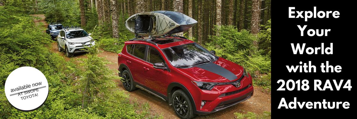 Dive into Adventure with the 2018 Toyota RAV4 Adventure Grade