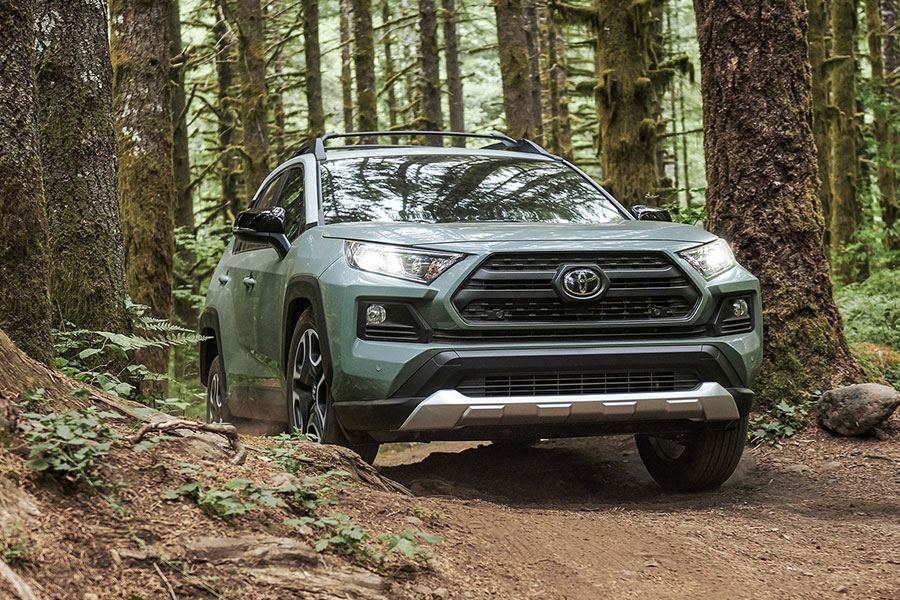 2019 Toyota RAV4 Doing Something Cool