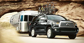 2016 Toyota Sequoia 7,400-lb. Max Towing