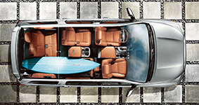 2016 Toyota Sequoia 8-Passenger Seating