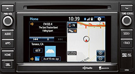 2016 Toyota Sequoia Entune Integrated Navigation