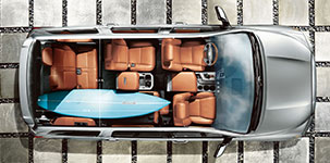 2017 Toyota Sequoia Versatile Seating