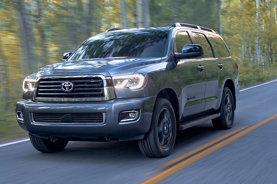 2019 Toyota Sequoia on the Road