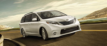 2017 Toyota Sienna Available All-Wheel Drive