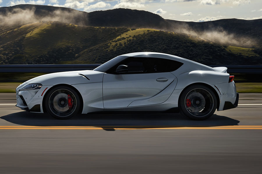 2020 Toyota Supra on the Road