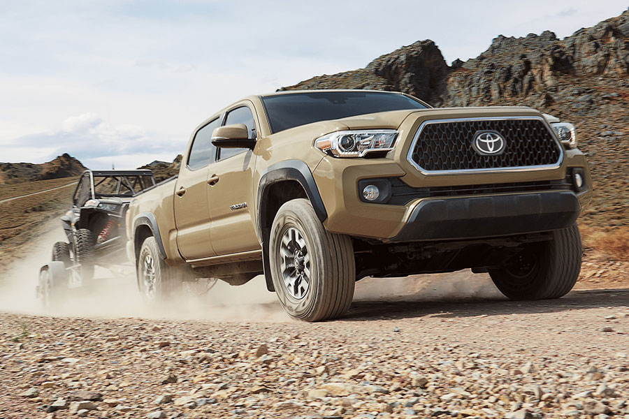 2019 Toyota Tacoma on the Road