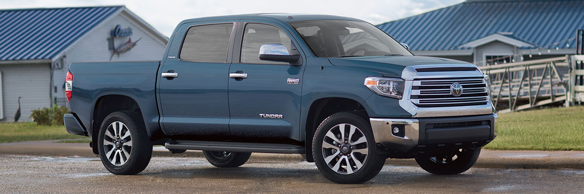 Used Toyota Tundra Side-View