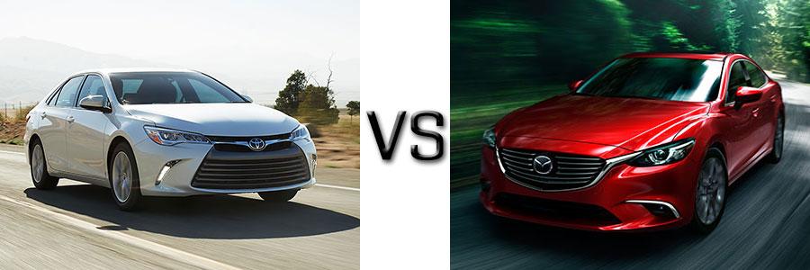 2017 Toyota Camry vs Mazda 6