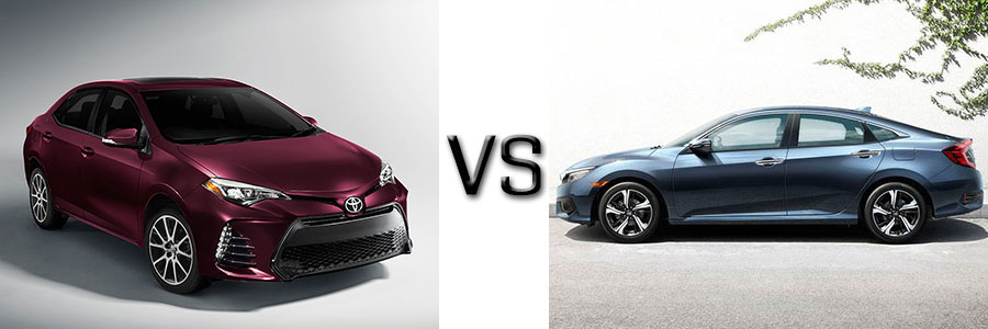 2017 Toyota Corolla Vs Honda Civic
