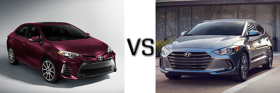 2017 Toyota Corolla vs Hyundai Elantra