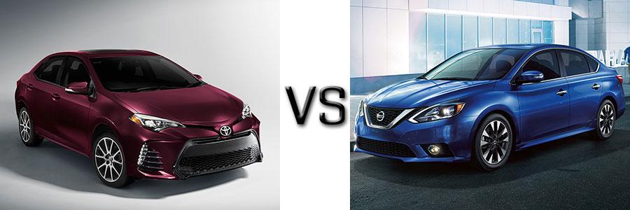 2017 Toyota Corolla vs Nissan Sentra