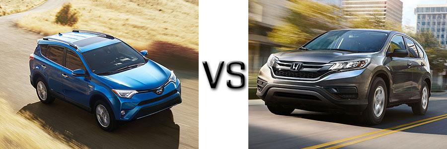 2016 Toyota Rav4 vs Honda CR-V