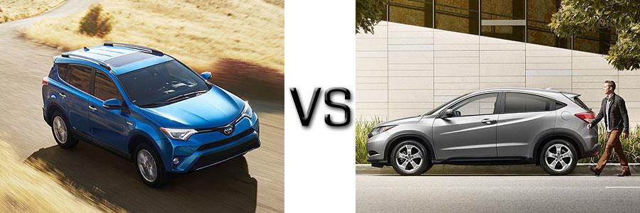 2016 Toyota Rav4 vs Honda HR-V