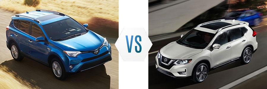 2017 Toyota RAV4 vs Nissan Rogue
