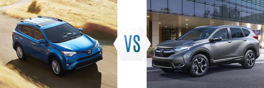 2018 Toyota RAV4 vs Honda CR-V