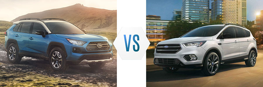2019 Toyota RAV4 vs Ford Escape