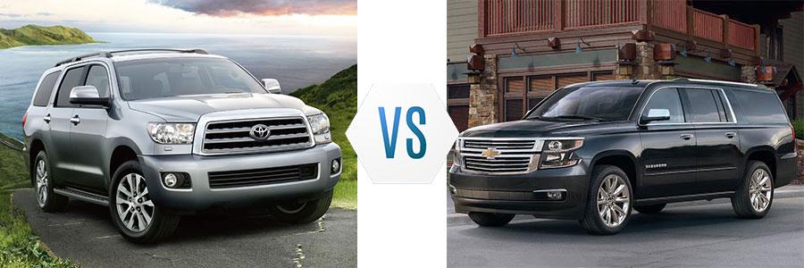 2017 Toyota Sequoia vs Nissan Armada
