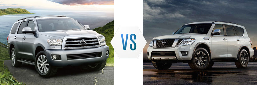 2017 Toyota Sequoia vs Chevrolet Suburban