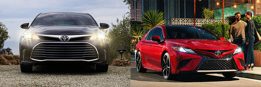 Should You Choose the Toyota Avalon or Toyota Camry?