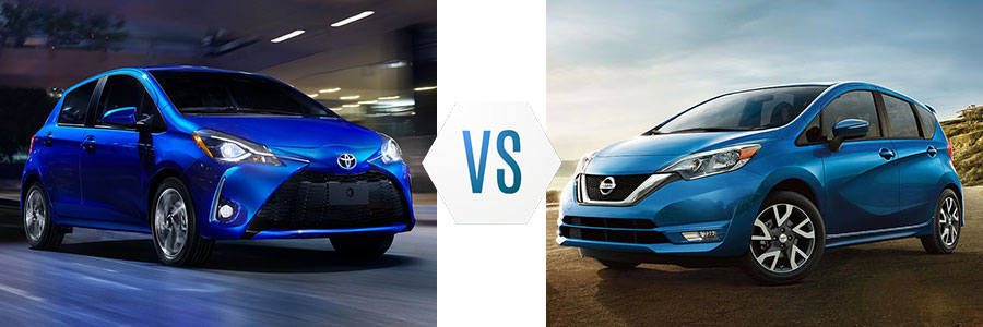 2017 Toyota Yaris vs Nissan Versa Note