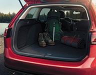 2017 Volkswagen Golf Alltrack Large Cargo Area