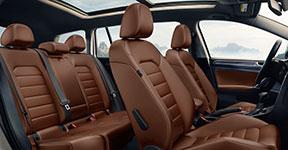 2017 Volkswagen Golf Alltrack V-Tex Leatherette