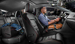 2017 Volkswagen Golf GTI Sporty Interior Options