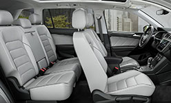 2018 Volkswagen Tiguan Leather Seating