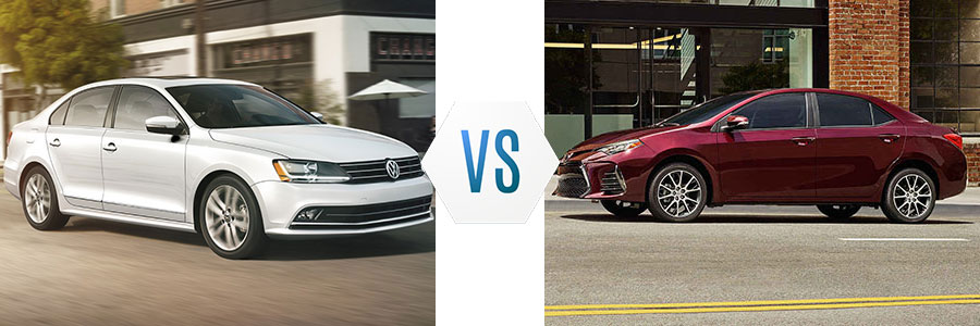 2017 Volkswagen Jetta Vs Toyota Corolla