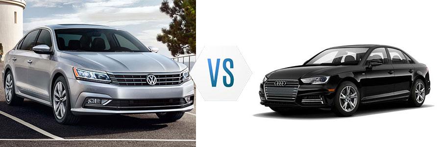 Volkswagen Passat Vs Audi A Burlington Volkswagen - Volkswagen audi