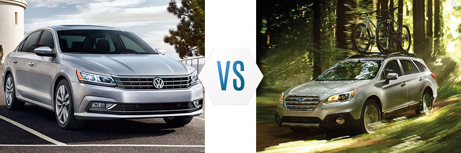 2017 Volkswagen Passat vs Audi A4