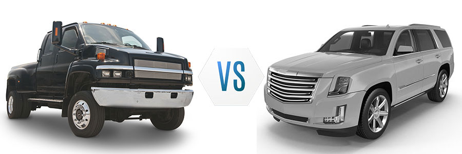 Pickup Truck or SUV?
